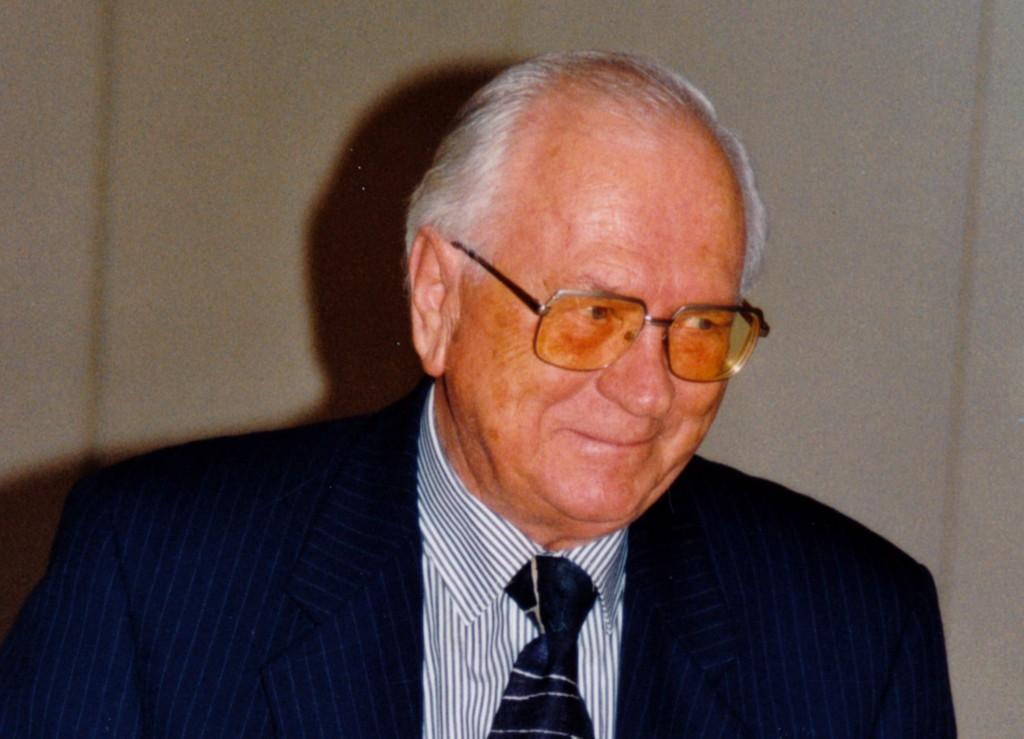 Clubgründer KommRat. Prof. Dr. Koren