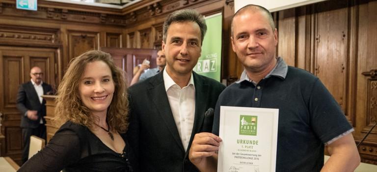 Toller Erfolg für Dieter Leitner bei der Grazer Photochallenge 2016