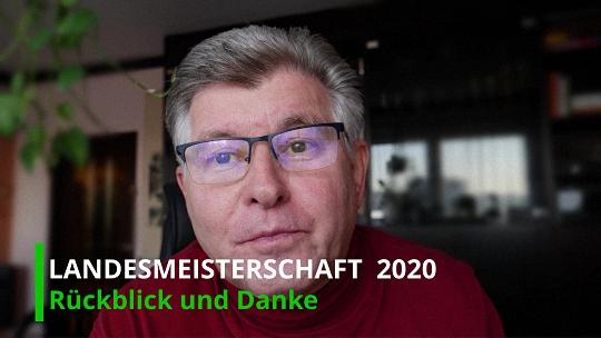 Landesmeisterschaft 2020 – Rückblick und Danke
